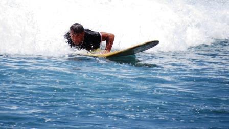 Bali surf sulla tavola