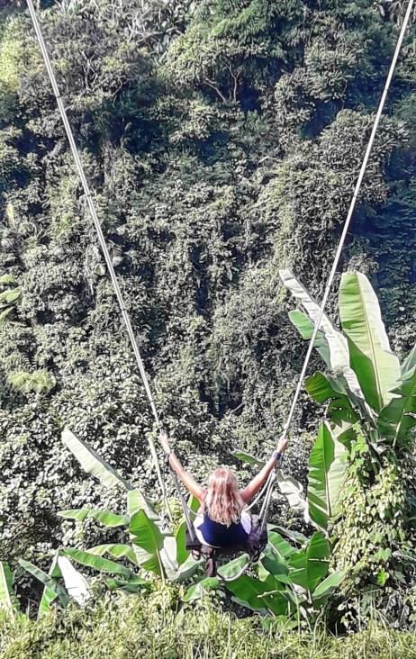 Bali swing nella jungla