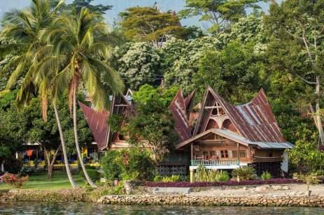 Sumatra casa batak a samosir