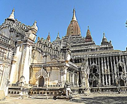 Myanmar tempio Ananda