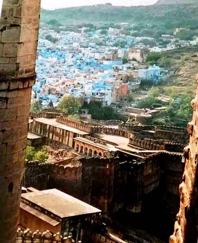 Jodhpur la città blu