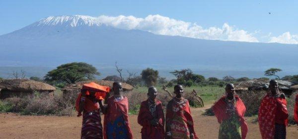 Kenia masai e kilimanjaro