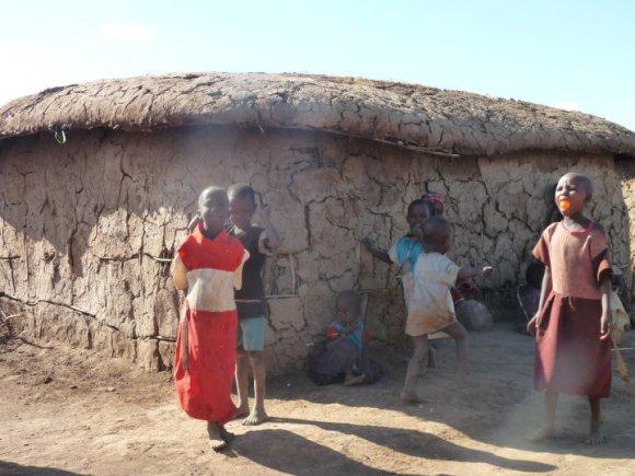 Kenia villaggio