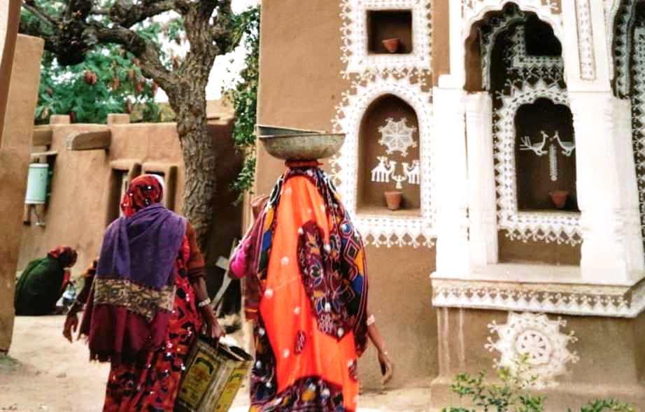 Rajastan mandawa nei vicoli