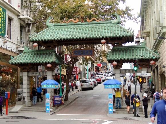 Le città della West Coast San Francisco: Chinatown - porta del dragone