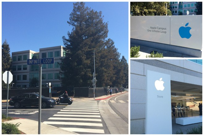 Cupertino: campus Apple