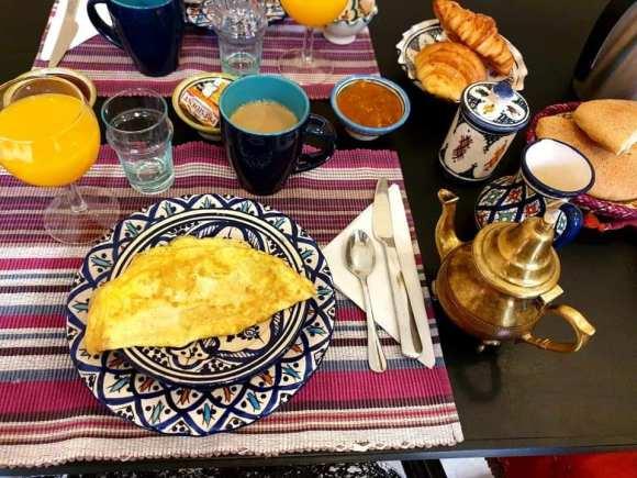 Marocco la colazione