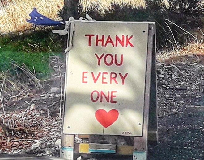 thanks you kangaroo island