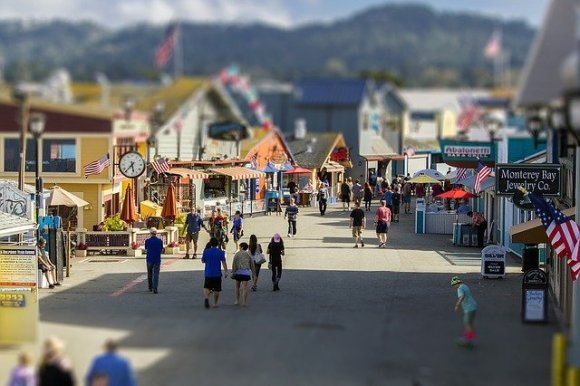 Le città della West Coast Monterey