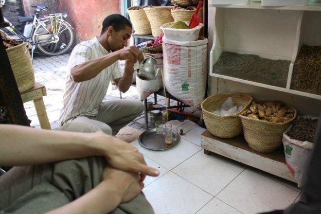 Marrakech Venditore di thè