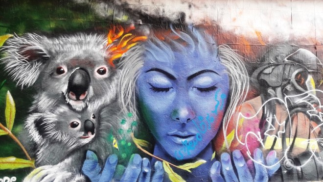 Melbourne arte di strada