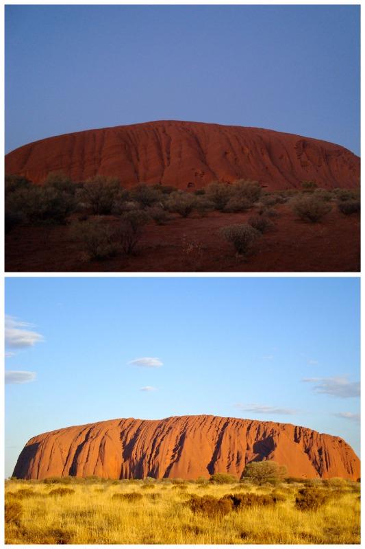 Uluru Alba e Tramonto
