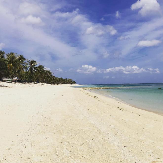 Travel blogger Nemberala Beach