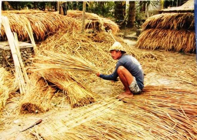 lombok fasci per i tetti delle abitazioni