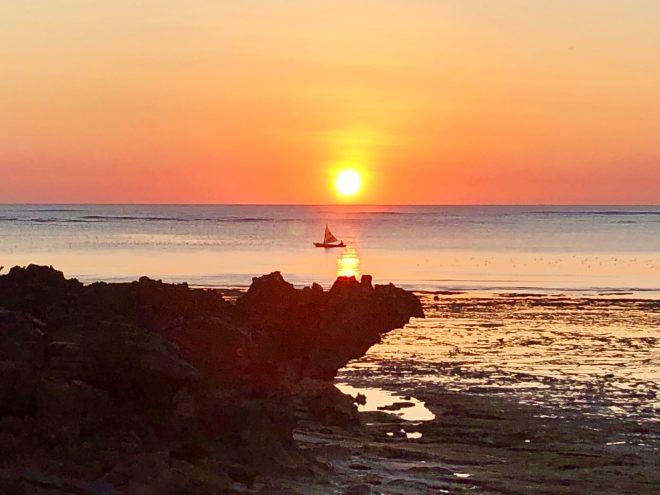 Rote: tramonto