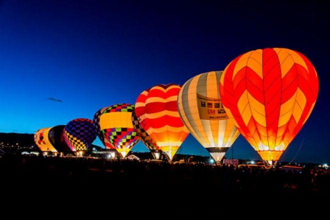 Albuquerque Balloon  night