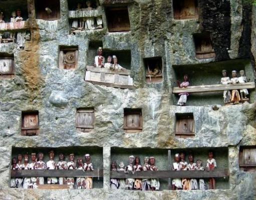 Tana Toraja Burial Site