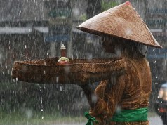 rain in Bali