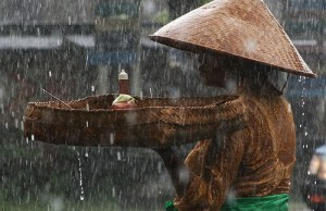 rain in Bali, Indonesia Travel guide