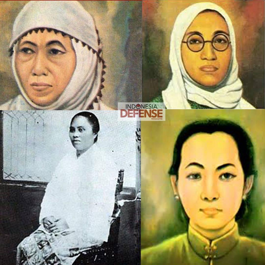 Foto Pahlawan Wanita Nasional