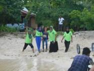 Staff on Plun Island