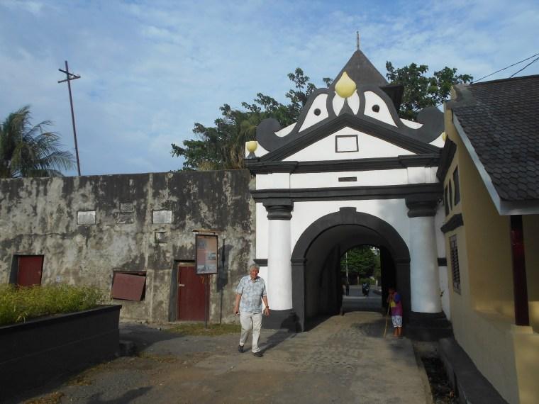 Fort Entrance in Ternate