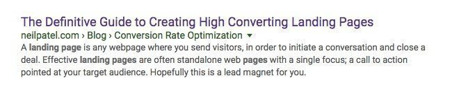 site neilpatel com landing pages Google Search