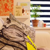Bags, Cushion Cover and Prints - Tulisan Jakarta