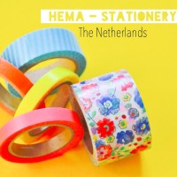 Favourite Stationery Shop in The Netherlands - HEMA