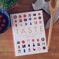 Taste the Infographic Book of Food