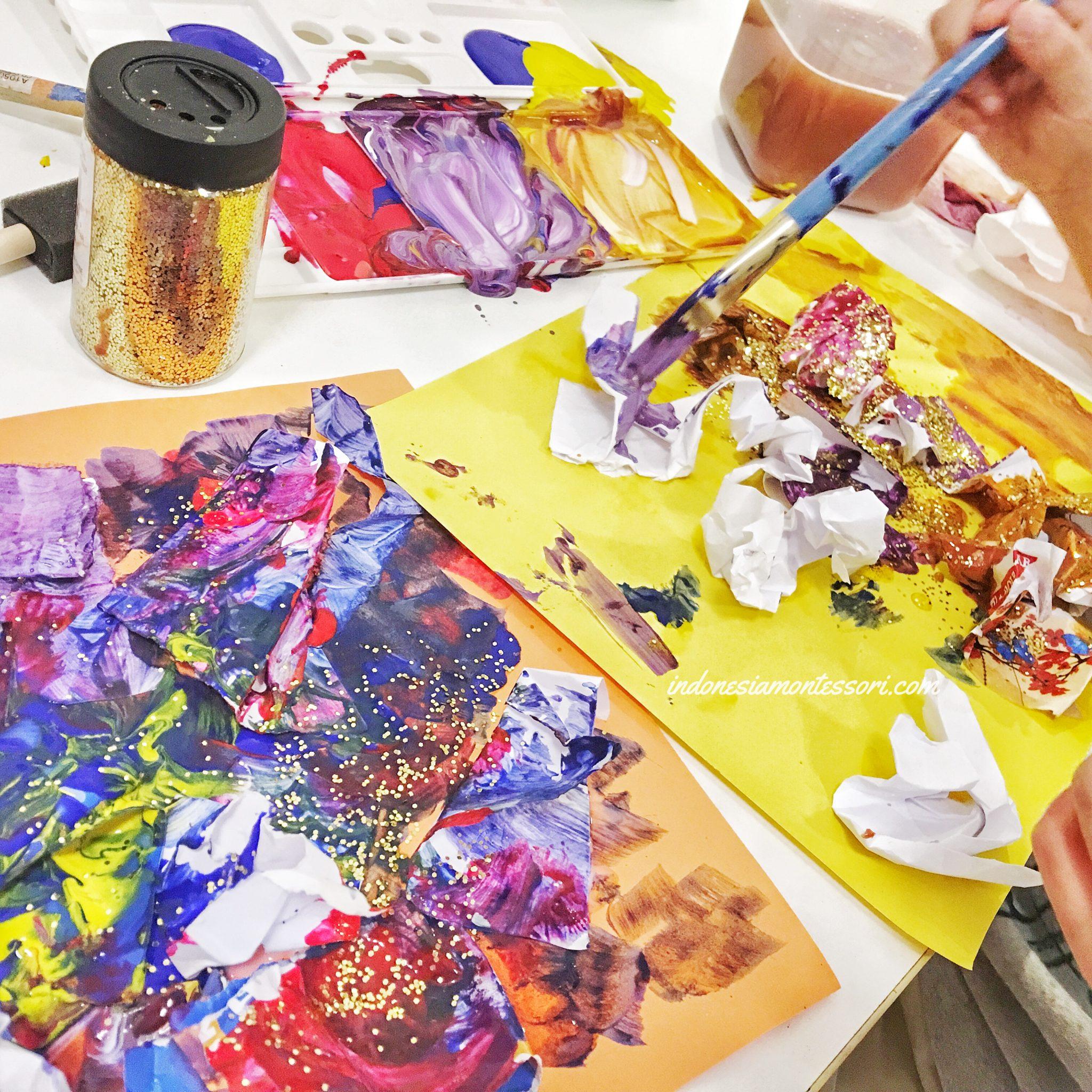 manfaat kegiatan seni dengan anak tk