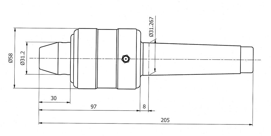 TSC-9061 MEDIUM DUTY LIGHT TYPE LIVE CENTER