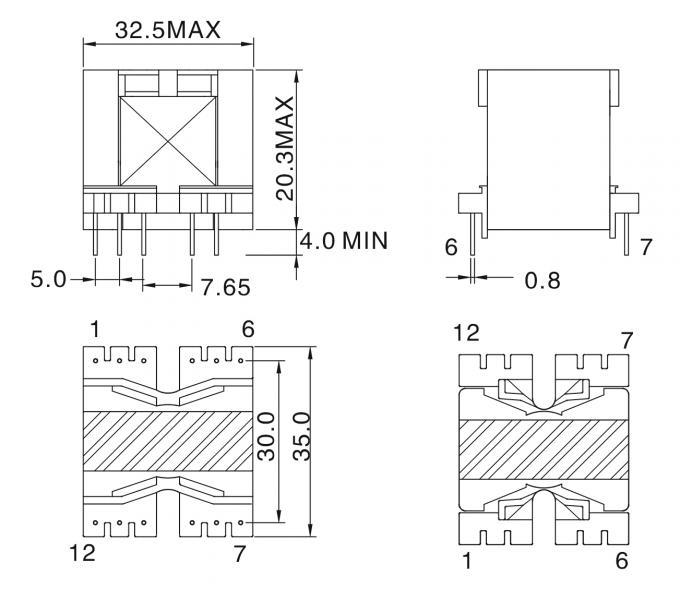 Trafo Frekuensi Tinggi Ringan, Switching Power Supply