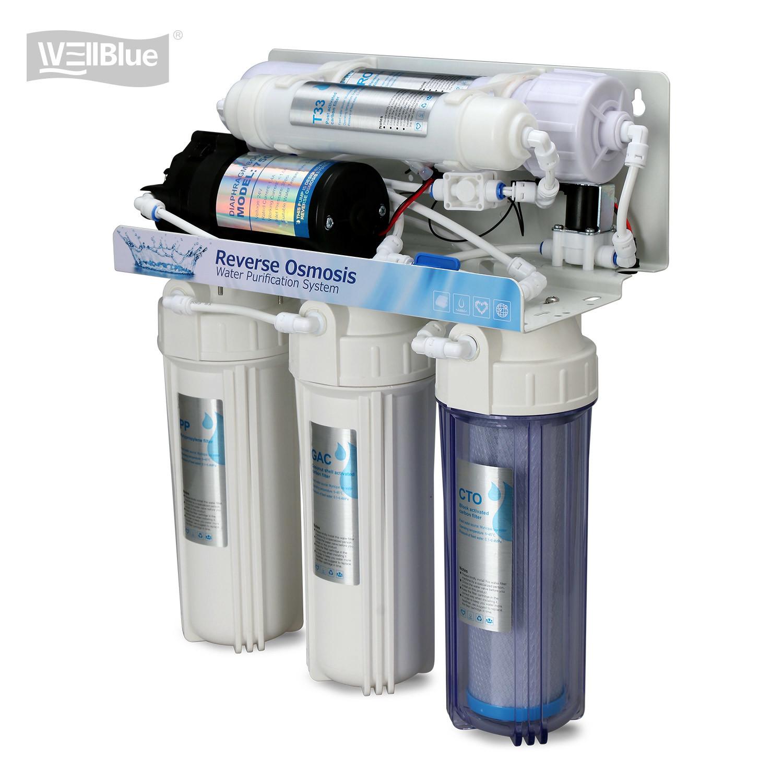 5 Tahap Reverse Osmosis Water Purification System Dengan Membran Filter