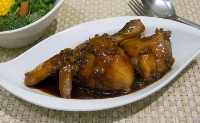 Chicken with Kecap Manis