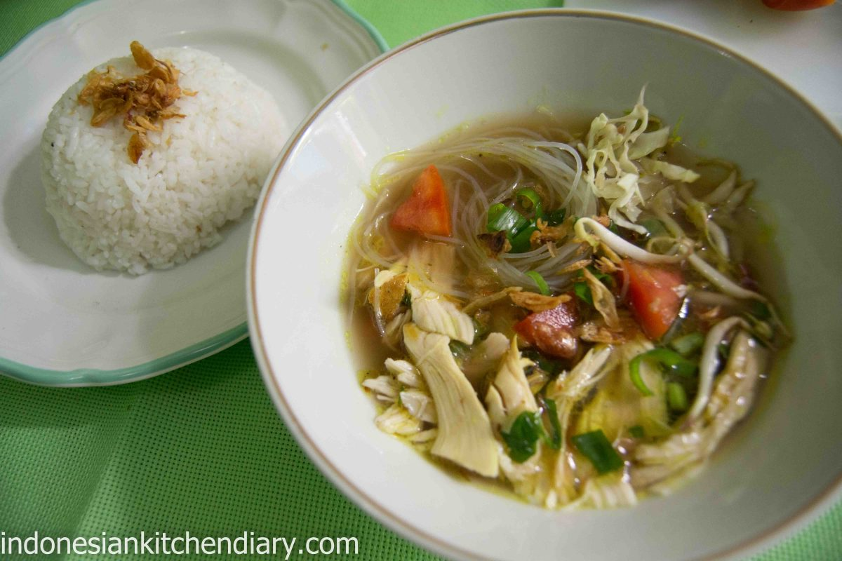 Soto Ayam (Indonesian Chicken Soup) | Indonesian Kitchen Diary