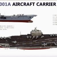 Kapal Induk Kedua China Project Type 001A Selesai 2017