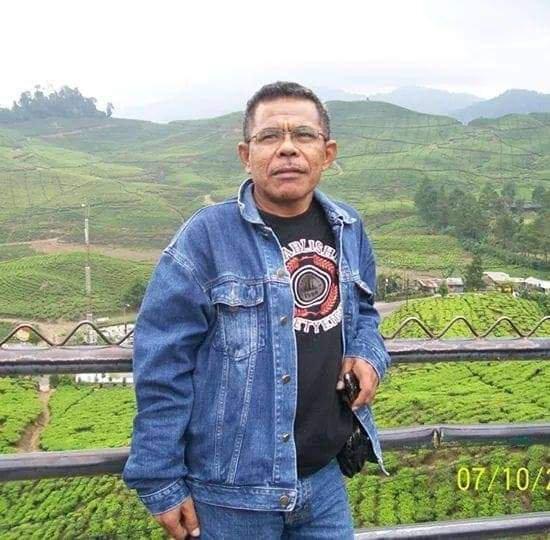 Lukas Mbulang, SH tokoh masyarakat Kabupaten Nagekeo.