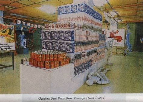 New Art Movement Exhibition 1987, Project 1: Supermarket Fantasy World Supermarket