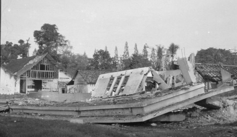 Cepu Destruction 10 January 1949 by J. Zijlstra