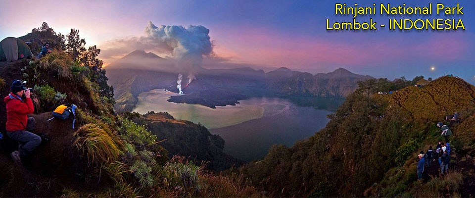Volcano Causing Chaos On Lombok