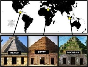 Indonesia pyramids