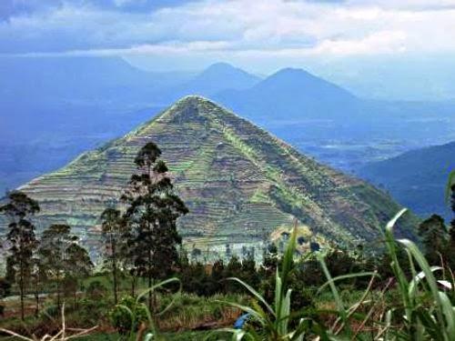 Garut Pyramid Java Indonesia