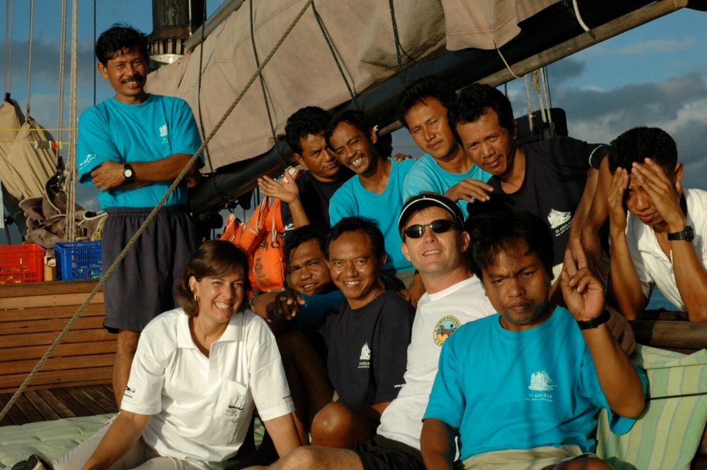 Gary Chandler tours Indonesia
