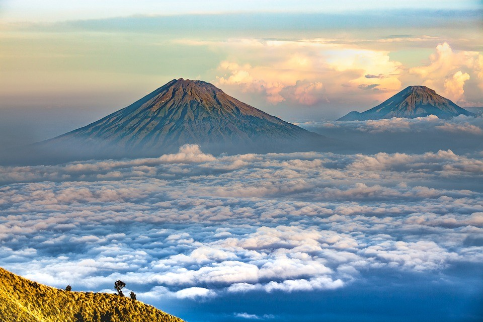 Java Indonesia volcano