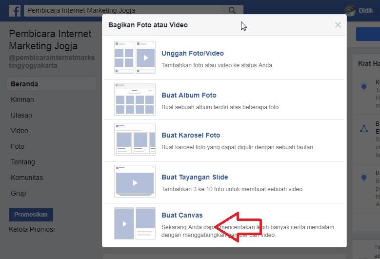7 Cara Membuat Landing Page Gratis Di Facebook