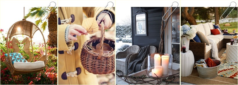 Rattan Furniture for Minimalism Home Design