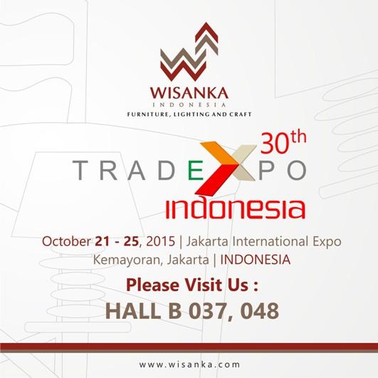 TEI : The 30th Trade Expo Indonesia 2015