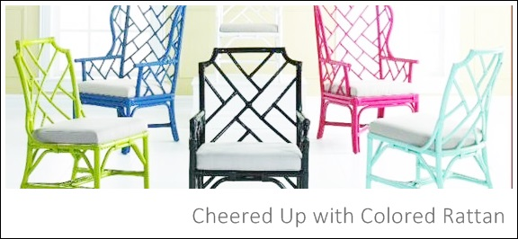 Cheered Up with Colored Rattan