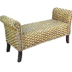 Carusel Wicker Bench